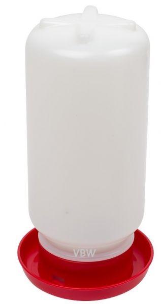 Wachtel Kükentränke rot für Küken