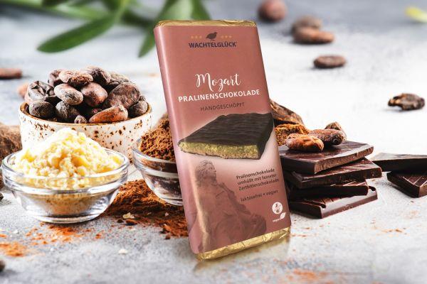 Wachtelei Schokolade Mozart Milchschokolade Wachtel