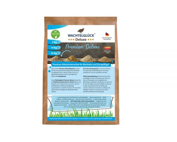 WachtelGlück Deluxe - Premium Wachtelfutter