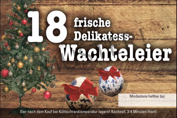 Rechteckige Etiketten 18er Eierschachtel Pappe, Motiv 4