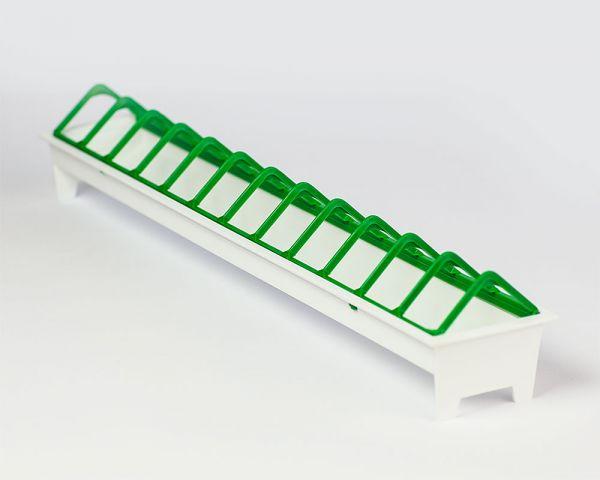 Futterrinne aus Kunststoff 40cm