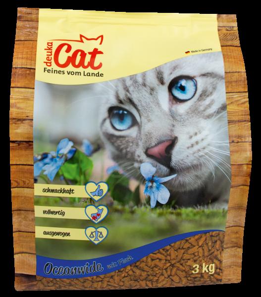 """Deuka Cat """"Oceanwide"""" - 3 kg Katzenfutter"""