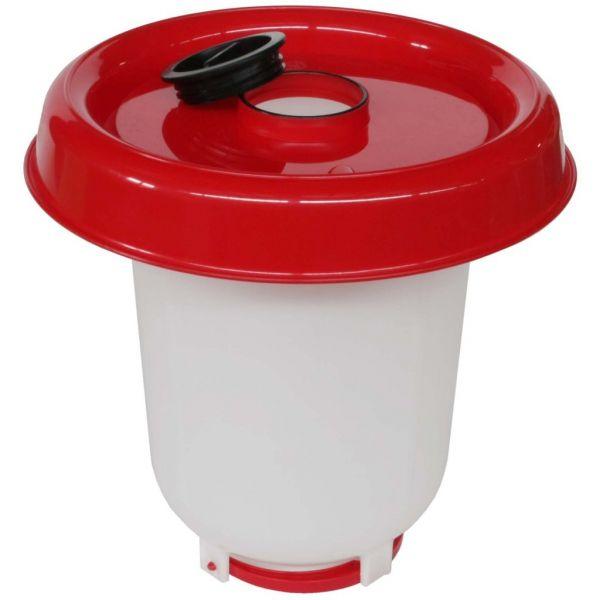 Stülptränke Verschraubung unten - 10 Liter