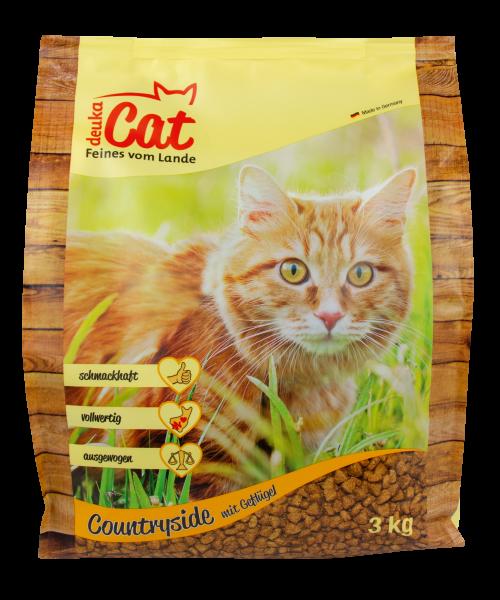 "Deuka Cat ""Countryside"" - 3 kg Katzenfutter"