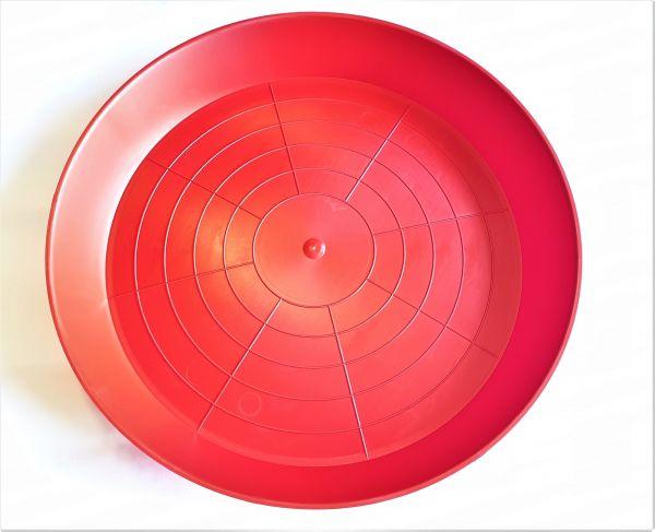 Kunststoffschale rot 42cm