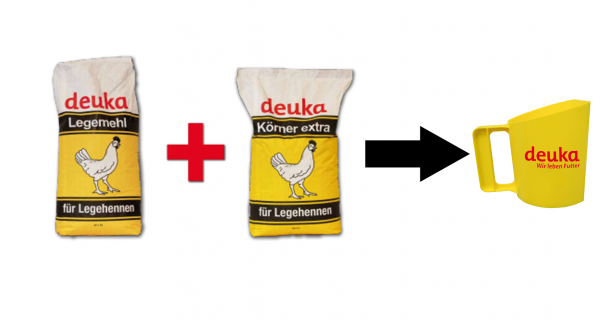 Aktionsangebot Deuka Legemehl + Körner Extra