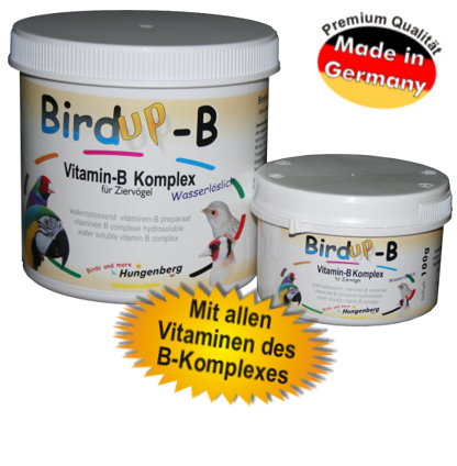 BirdUp-B Vitamin B für Wachteln Vögel Hühner