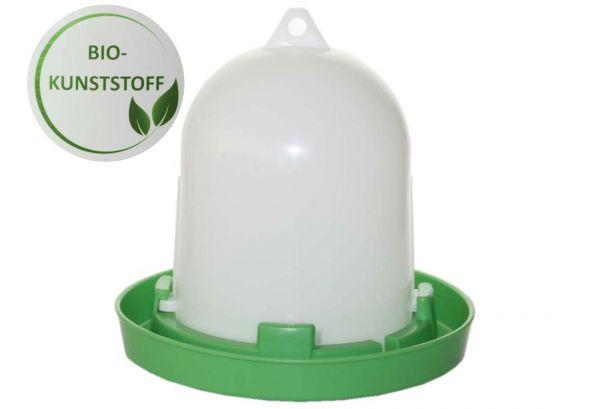 Stülptränke Bio Kunststoff für Wachteln Hühner