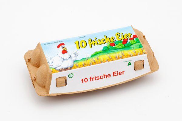 Eierverpackung für Hühnereier