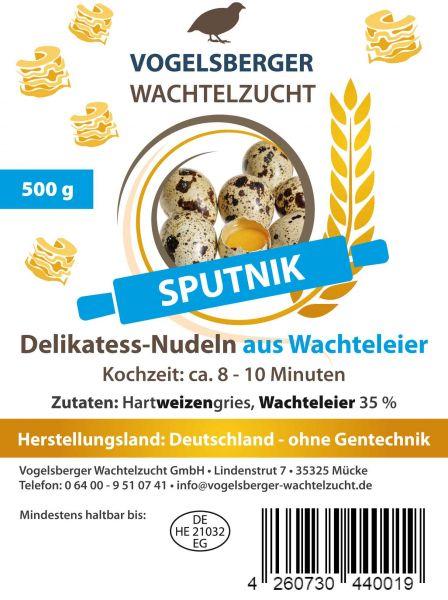 WachtelGlück® Sputnik Wachteleinudeln