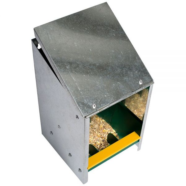 Futterautomat 2,5 Kg mit Deckel