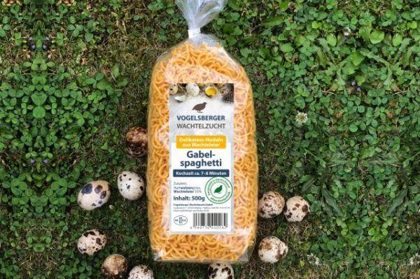 WachtelGlück® Gabelspaghetti Wachteleinudeln