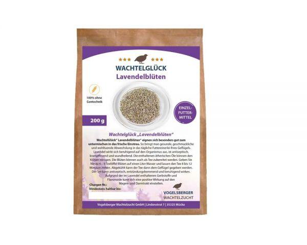 Wachtelfutterergänzung Hühnerfutterergänzung Lavendelblüten